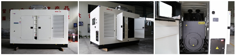 BA Power Silent Genset powered by UKKMS engine