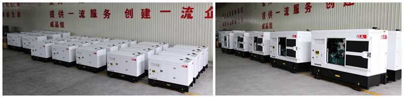 BA Power Silent Generator Sets