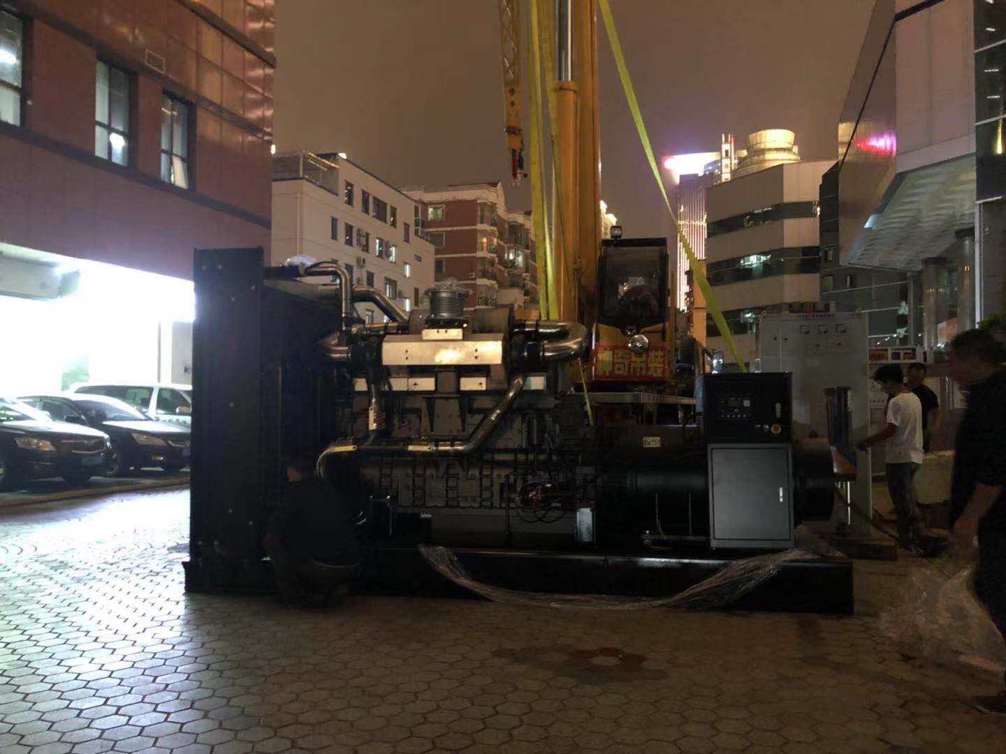 BA POWER MAKES A PLAN FOR INSTALLING Permanent Diesel Generators INSIDE A BIG BUILDING